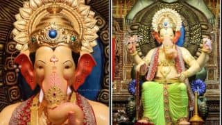 Lalbaugcha Raja Day 1 Live Darshan 2017: Watch Aarti, Mukh Darshan with Online Streaming from Mumbai's Famous Ganpati Pandal