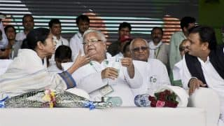 Sharad Yadav and I Made Nitish Kumar, BJP Using Him For Political Gains: Lalu at Grand Opposition Rally
