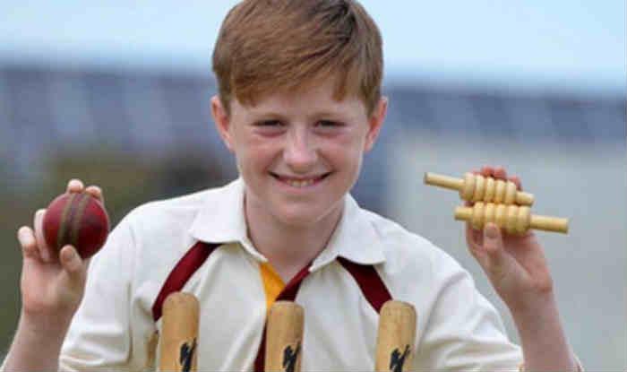 इंग्लैंड में 13 साल के गेंदबाज ल्यूक रॉबिसन ने 6 गेंदों में लिए 6 विकेट (Instagram)