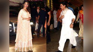 Priyanka Chopra's Entry And Shah Rukh Khan's Exit At The Ambani Bash Planned?