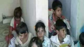 Madhya Pradesh School Students Forced to Study in Toilet Due to Lack of Infrastructure