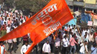 मुंबईत मराठा मोर्चा; रस्त्यांवर गर्दीच गर्दी