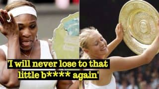 Maria Sharapova Called 'Little B****' by Serena Williams, Reveals Russian Tennis Star's Autobiography 'Unstoppable: My Life So Far'