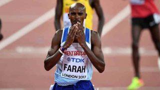 मो फराह ने वर्ल्ड चैंपियनशिप में 10,000 मीटर रेस का गोल्ड मेडल जीतकर रचा इतिहास