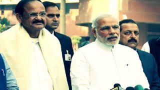 PM Narendra Modi Heaps Praises on Venkaiah Naidu, 'The First Vice-President Born in Independent India'