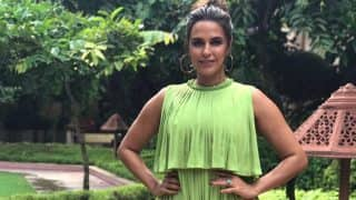 Neha Dhupia Just Reminded Us Of Christmas With Her Latest Fashion Outing And We Can't Complain