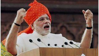 पीएम नरेंद्र मोदी की स्वतंत्रता दिवस स्पीच यहां देखें LIVE