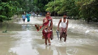 Assam Flood: Close to Four Lakh Affected; Highways, Houses Damaged