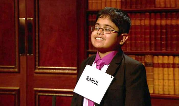 Indian Kid turns sensation on British TV