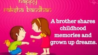 Raksha Bandhan Quotes 2017 in English: Happy Raksha Bandhan Images for WhatsApp and Rakhi Pictures for Your Brother and Sister