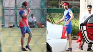 Ranbir Kapoor Enjoys A Game Of Football With His Friends -View Pics