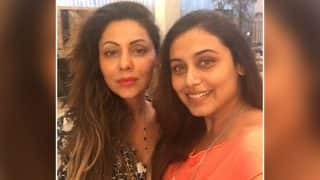 Rani Mukerji And Gauri Khan Met For Some Coffee And We Wish Shah Rukh Khan Was There Too - View Pic