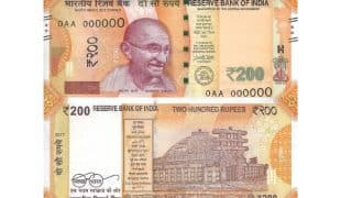 RBI to Issue Rs 200 Notes Today: Here Are Salient Features