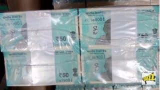 Rs 50 New Note Picture Real or Fake: Photo of Stacks of Currency That RBI Plans to Introduce Leaked Online?