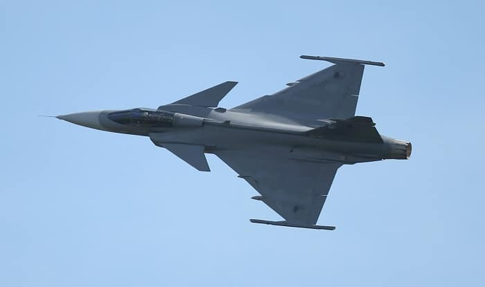 Saab, Adani Announce Collaboration To Manufacture Gripen Fighter Jets In India
