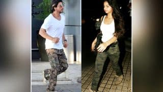Not Only Aryan, Suhana Khan Too Took A Cue From Daddy Shah Rukh Khan's Style