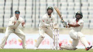 बांग्लादेश ने पहले टेस्ट में 260 रन पर सिमटने के बाद 18 रन पर ऑस्ट्रेलिया के 3 विकेट गिराए