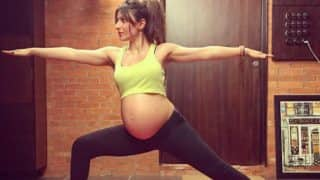 Fans Amazed Seeing Heavily Pregnant Soha Ali Khan's Yoga Picture