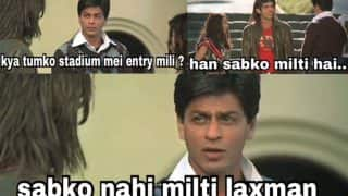 Shah Rukh Khan's This Main Hoon Na Scene Is Now A Hilarious Meme (See Pics)