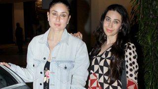 Kapoor Sisters Kareena and Karisma Are Rocking The No Make-Up Look - View HQ Pics!