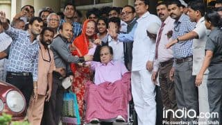 Dilip Kumar Discharged From Hospital; Saira Banu Kisses Her Yusuf Sahab As They Head Home - View Pics
