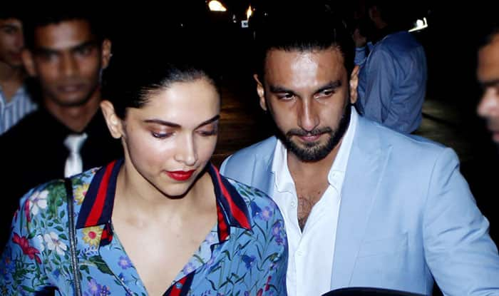 Deepika Padukone & Ranveer Singh Out On A Dinner Date