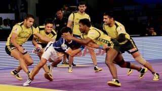 Telugu Titans vs Jaipur Pink Panthers, Dabang Delhi KC vs UP Yoddha, Live Streaming, Pro Kabaddi 2017: Watch Live telecast of   Telugu Titans vs Jaipur Pink Panthers, Dabang Delhi KC vs UP Yoddha on Hotstar