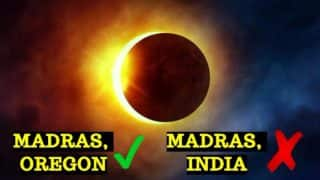 Total Solar Eclipse 2017 will be Best Seen in Madras, But Not Visible in India? City Wise Schedule & Time of This Year's Eclipse