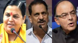 Union Ministers Rajiv Pratap Rudy, Uma Bharti Resign From Modi Cabinet, Arun Jaitley Likely to Give Up Defence