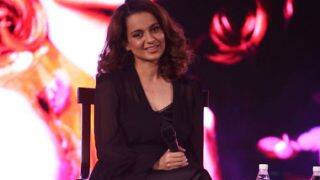 Kangana Ranaut Shamed For Wearing A Mini Skirt?