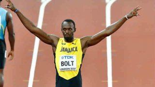 उसेन बोल्ट अपनी आखिरी वर्ल्ड चैंपियनशिप में 100 मीटर रेस के सेमीफाइनल में पहुंचे