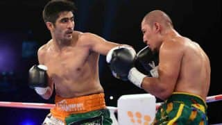 I am Training Hard For my 10th Professional Fight: Vijender Singh