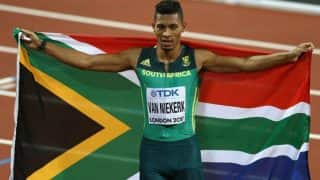 IAAF World Athletics Championships: Wayde van Niekerk Retains World 400m Title