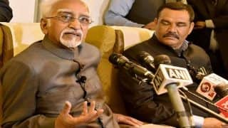 Muslims' Insecurity, Triple Talaq, Kashmir Imbroglio: V-P Hamid Ansari Steers Political Debate as he Departs