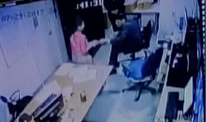 Five-star hotel employee allegedly assaulted by security manager; act caught on camera