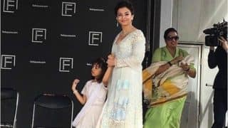 Aishwarya Rai Looks Stunning in White as She Twins with Daughter Aaradhya at the Indian Film Festival of Melbourne