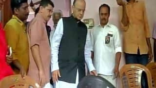 Arun Jaitley Visits Killed RSS Worker's House in Kerala, Says Such Violence Won't Scare Us