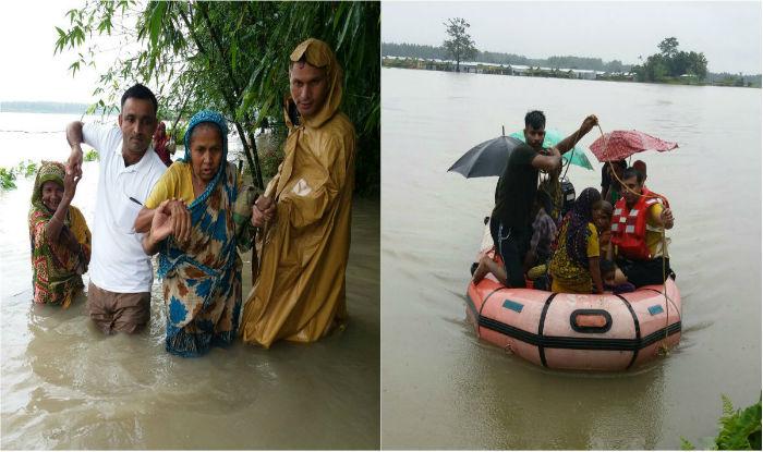 Floods hit 3.52 lakh in Assam