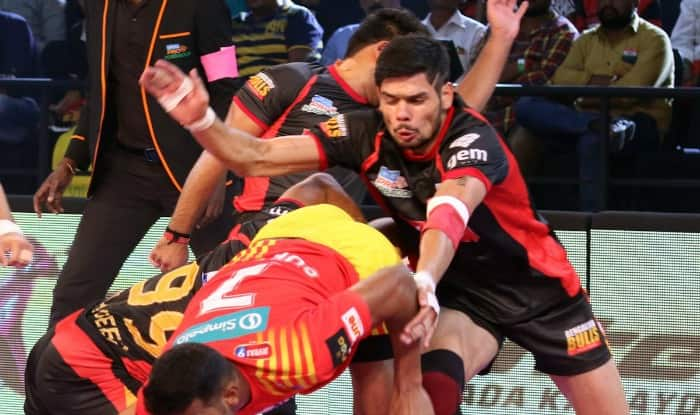 Bengaluru Bulls in action. (Twitter)