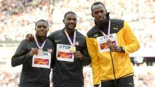 Justin Gatlin Booed Again, This Time at Medal Ceremony