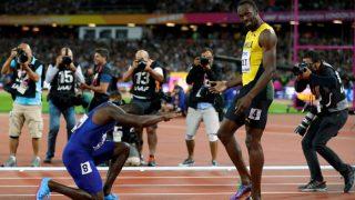 IAAF World Championships 2017: Booed Justin Gatlin Hails 'Amazing' Rival Usain Bolt