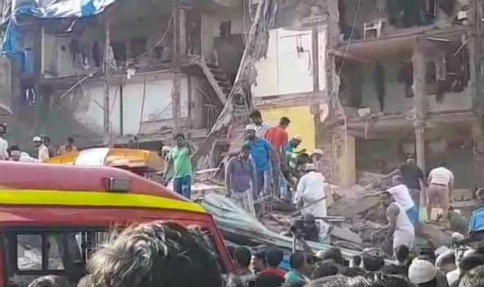 5-storey building collapses, over 30 trapped