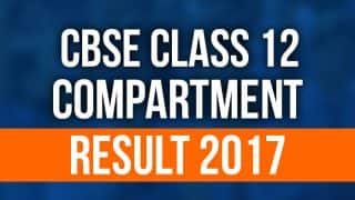 CBSE Class 12 Compartment Result 2017 Declared: Here's How to Check at cbse.nic.in