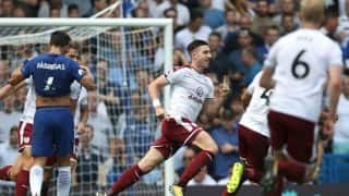 English Premier League: Chelsea Stunned by Burnley, Manchester City Ease Past Brighton