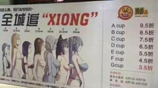 Women Gets Discounts According To Their Bra Size At This Chinese Restaurant!