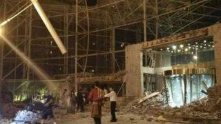 चीनमध्ये भूकंपात १०० जण ठार झाल्याची भीती