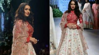 Lakme Fashion Week 2017: Shraddha Kapoor Looks Dazzling As She Walks On The Ramp