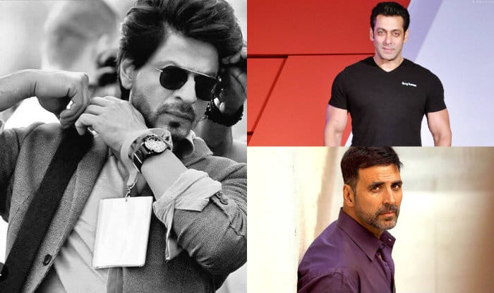 SRK, Salman, Akshay, Top Forbes list of Highest Paid Bollywood Actors