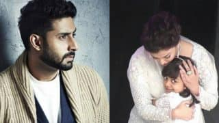 Abhishek Bachchan's Post For Aishwarya And Aaradhya Will Give You Family Goals