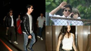 Aryan, Suhana And Abram Are Hell Bent On Copying Shah Rukh Khan And We Have Proof!